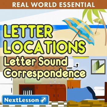 K Letter Sound Correspondence - Letter Locations Essentials Bundle