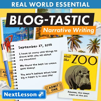 K Narrative Writing - 'Blog-Tastic' Essentials Bundle