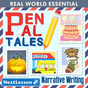 G1 Narrative Writing - 'Pen Pal Tales' Essentials Bundle