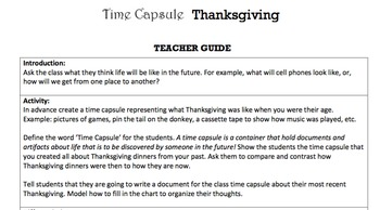 G2 Narrative Writing - 'Time Capsule' Essentials Bundle