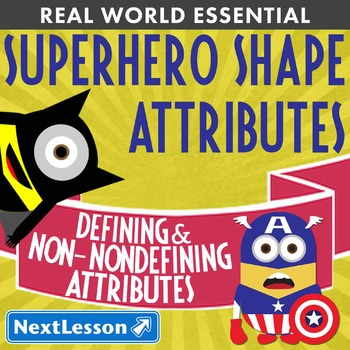 Essentials Bundle - Non-Defining Attributes – Superhero Shape Attributes