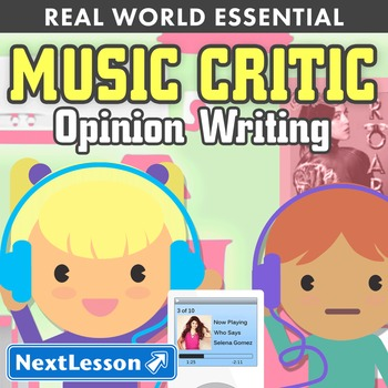 G2 Opinion Writing - 'Music Critic' Essentials Bundle