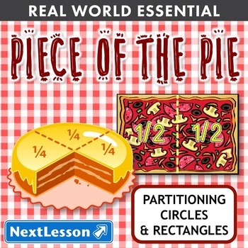 Essentials Bundle - Partitioning Circles & Rectangles – Piece of the Pie