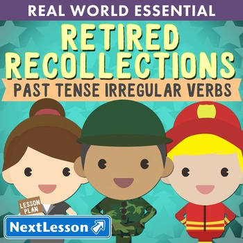 G2 Past Tense Irregular Verbs - 'Retired Recollections' Es