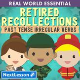 G2 Past Tense Irregular Verbs - 'Retired Recollections' Essentials Bundle