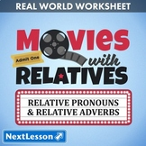 G4 Relative Pronouns & Adverbs - 'Movies with Relatives' Essentials Bundle