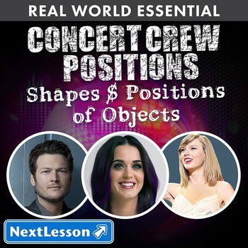 Essentials Bundle - Shapes & Positions of Objects – Concert Crew Positions