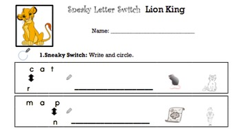 K Similarly Spelled Words - 'Sneaky Letter Switch' Essentials Bundle