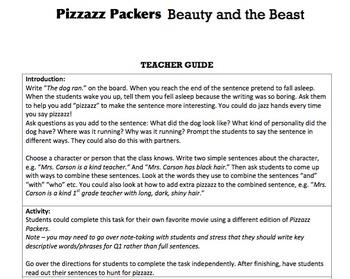 G2 Simple & Compound Sentences - 'Pizzazz Packers' Essentials Bundle