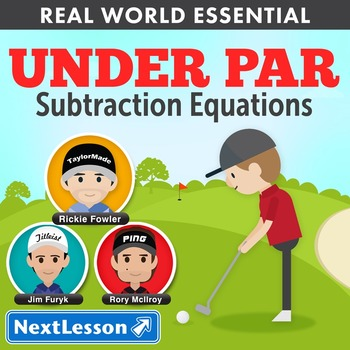 Essentials Bundle - Subtraction Equations – Under Par