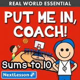 Essentials Bundle - Sums to 10 - Put Me in, Coach!
