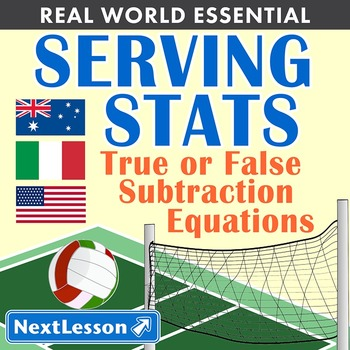 Essentials Bundle - True or False Subtraction Equations – Serving Stats