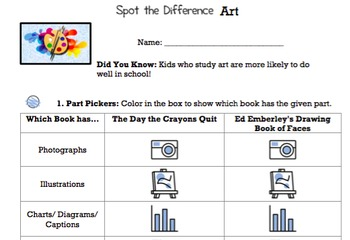 G1 Contrasting Story & Information Books-'Spot the Difference' Essentials Bundle