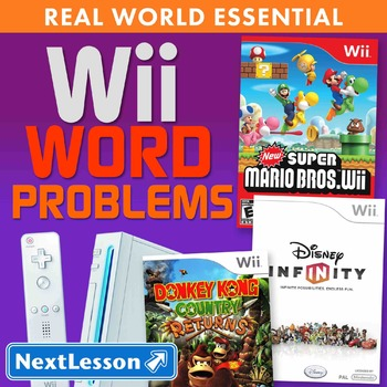 Essentials Bundle - Word Problems – Wii Word Problems