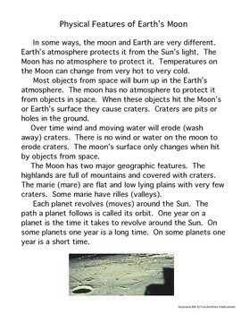 Essentials of Earth Science: Earth, Sun, & Moon 8th – 12th