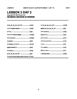 Essential First Grade Reading Skills of H Mifflin Journeys