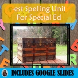 Est Spelling Unit for Special Education with Lesson Plans