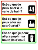Est-ce que je peux...French mini posters
