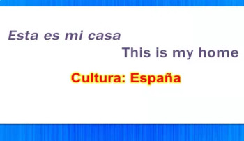 Esta Es Mi Casa - This Is My House - Spain Video Tutorial