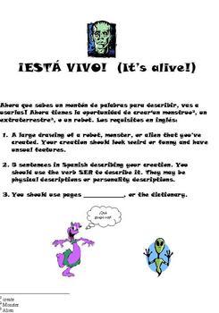 Esta vivo!-- It's alive!