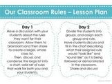 Establishing Classroom Rules