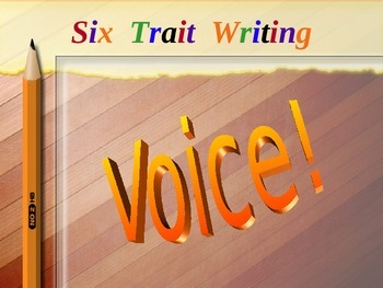 Establishing Voice for Effective Writing