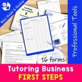Establishing a Tutoring Business {Be a Professional Series}