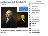 Establishing the American Republic: Washington, Jefferson,