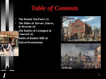 American Revolutionary War - Colonial Boston