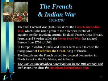 American Revolutionary War - Events Leading up to the Revolutionary War