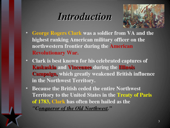 American Revolutionary War - Key Figures - George Rogers Clark