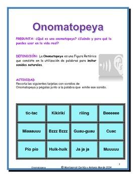 Estación de POESÍA: Onomatopeya/ POETRY Station in Spanish: Onomatopoeia