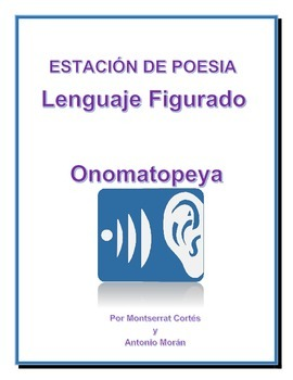 Estación de POESÍA: Onomatopeya/ POETRY Station in Spanish