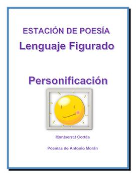 Estación de POESÍA: Personificación/ POETRY Station in Spanish:Personification
