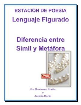 Estación de POESÍA: Similes y Metáforas/ POETRY Spanish: Similes and Metaphors