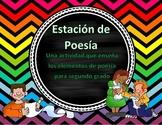 Poetry Mat in Spanish/ Estacion de poesía