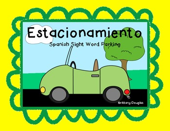 Estacionamiento-Spanish Sight Word Parking