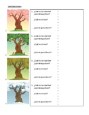 Estaciones (Seasons in Spanish) Worksheet