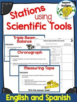 Estaciones Utilizando Instrumentos Científicos (Science Tools Stations)