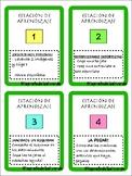 Estaciones de aprendizaje lengua y mates