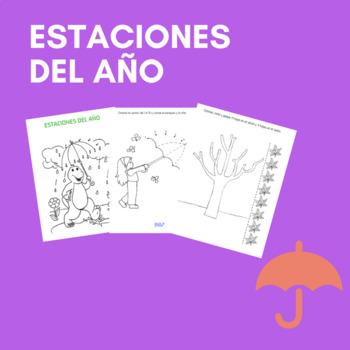 Estaciones del año / seasons in Spanish