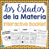 Estados de Materia (States of Matter) Interactive Science Activity in Spanish