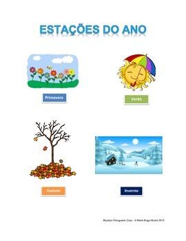 Estações do Ano - Seasons of the year