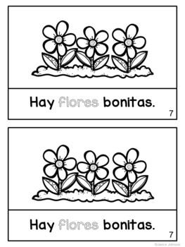 Estamos en abril Spanish April reader {libro en español}