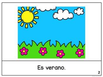 Estamos en julio ~ Spanish July reader {libro en español}