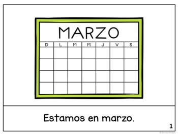 Estamos en marzo Spanish March reader {libro en español}