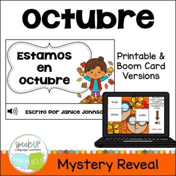 Estamos en octubre Spanish October reader {libro en español}