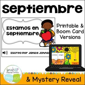 Estamos en septiembre Spanish September reader {libro en español}