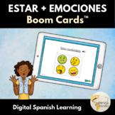 Estar + Emotions in Spanish Emoji Boom Cards