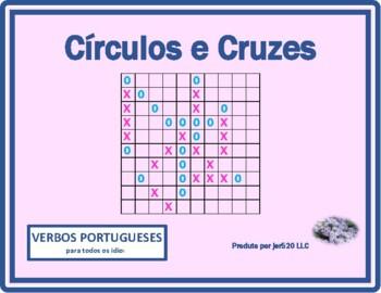 Estar, Fazer, Ir, Ser, Ter Portuguese verbs Mega Connect 4 game